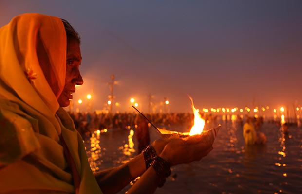 hindu rites Gange Alquimia