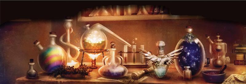alchemy laboratory Alquimia