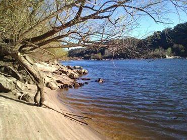 Tejo river beach Alquimia